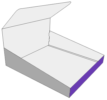 Display Box With Double Walls