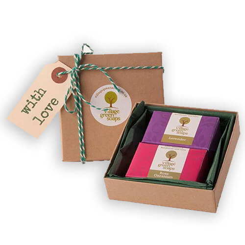 gift soap packaging
