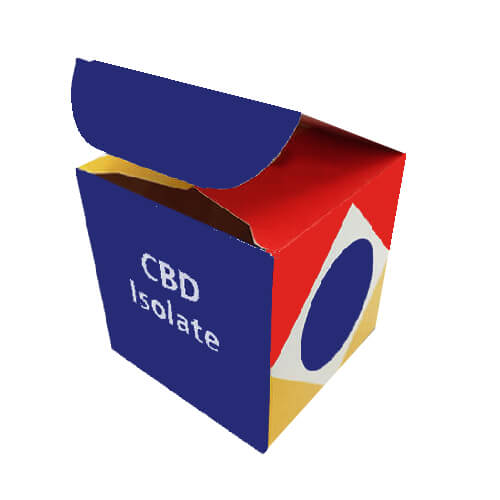 custom cbd isolate packaging boxes
