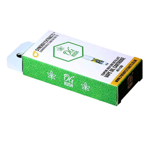 CBD VAPE OIL CARTRIDGE PACKAGING