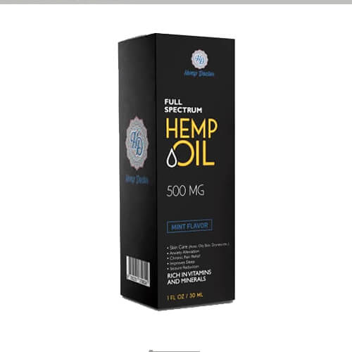 cbd hemp oil packaging