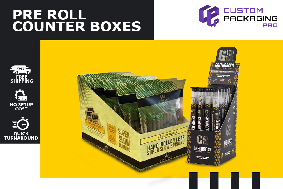 Pre Roll Counter Boxes