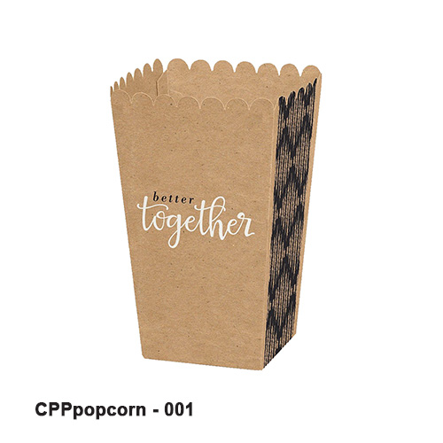 custom popcorn packaging