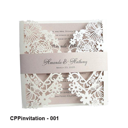 Printed Invitation Boxes Wholesale