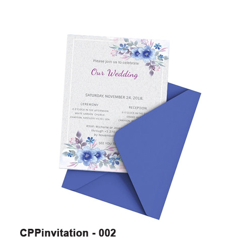 Printed Invitation Boxes