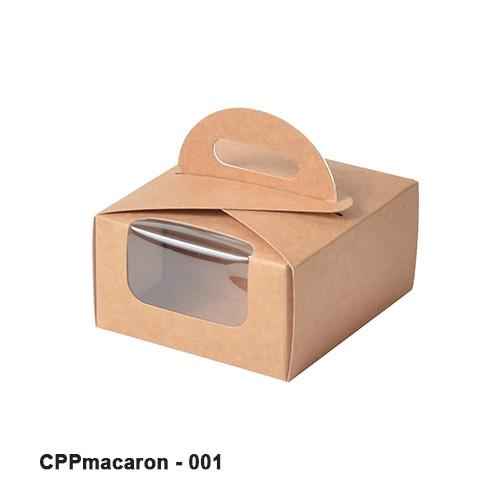 Macaron packaging box