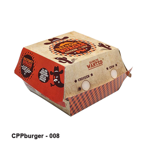 Custom Burger Boxes