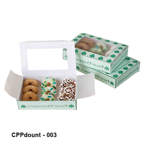 Printed Donut Boxes