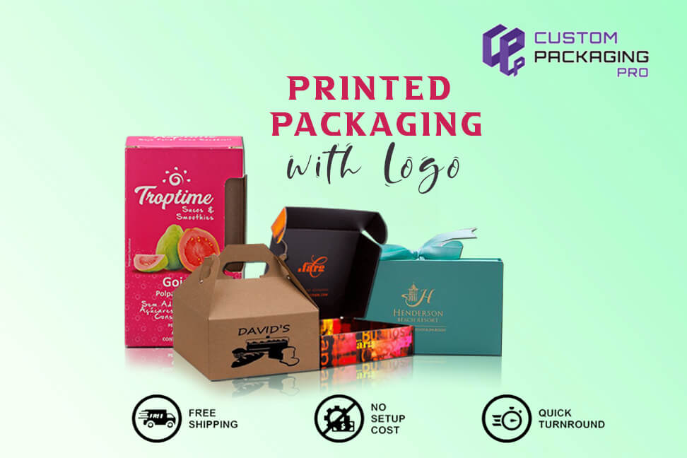 Printed Packaging with Logo