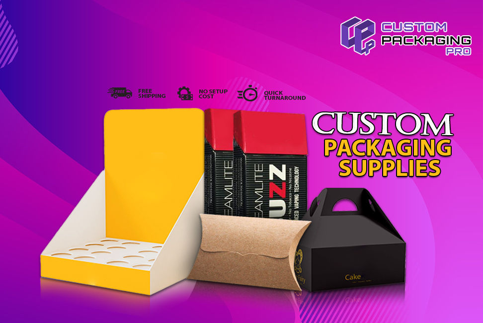 Tempt the Market Big with Custom Packaging Supplies